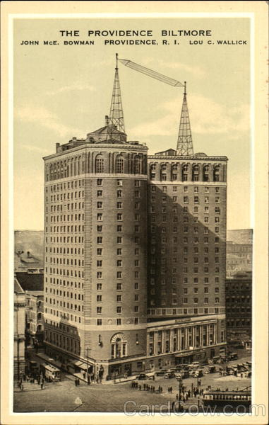 The Providence Biltmore Rhode Island