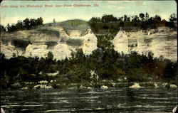 Bluffs Along The Mississippi River
