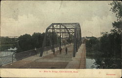 Main St. Bridge Postcard