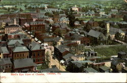 Bird's Eye View Of Chester