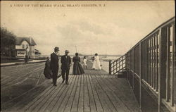 A View Of The Board Walk