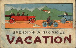 Spending A Glorious Vacation Postcard