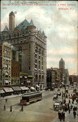 Broad Street Showing Prudential Bldg. & Post Office