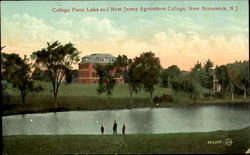 College Farm Lake And New Jersey Agriculture College