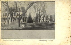 Railroad Ave., No. 3 Postcard