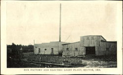 Box Factory And Electric Light Plant
