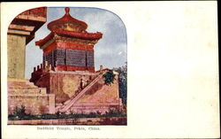Buddhist Temple Postcard