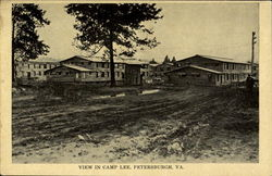 View In Camp Lee Postcard