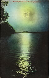 Moonlight On Lake Huntington