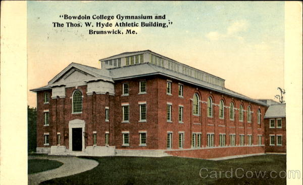 Bowdoin College Gymnasium And The Thos W. Hyde Athletic Building Brunswick Maine