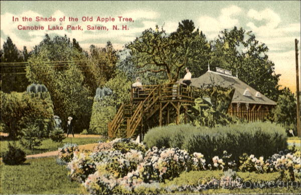 In The Shade Of The Old Apple Tree, Canobie Lake Park Salem New Hampshire