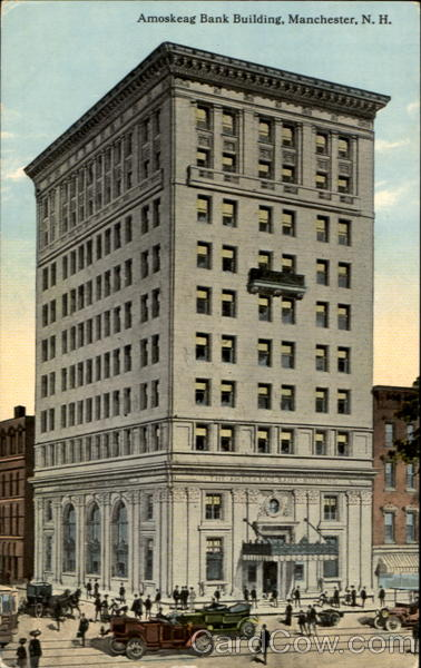 Amoskeag Bank Building Manchester New Hampshire