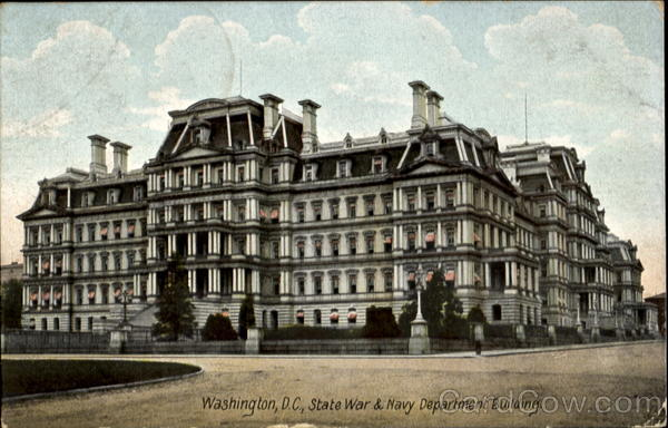 State War & Navy Department Building Washington District of Columbia