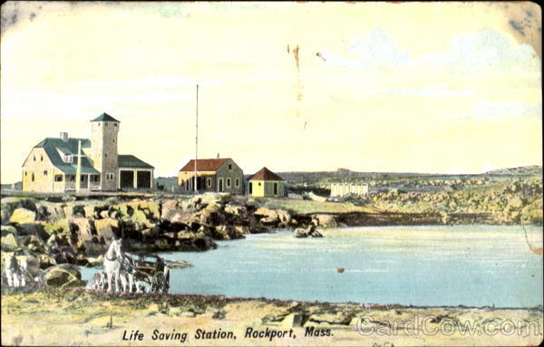 Life Saving Station Rockport Massachusetts