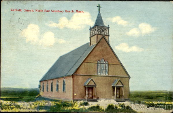Catholic Church Salisbury Beach Massachusetts