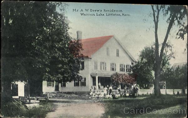Mr. A. W. Drew's Residence, Warren Lake Littleton Massachusetts