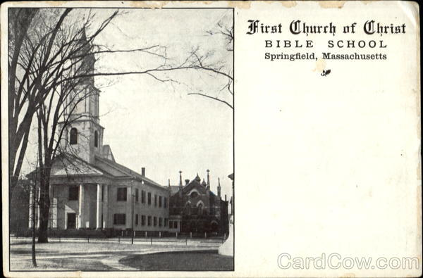 First Church Of Christ Bible School Springfield Massachusetts