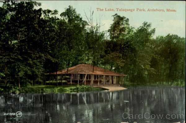 The Lake, Talaquega Park Attleboro Massachusetts