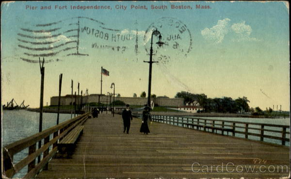 Pier And Fort Independence, City Point South Boston Massachusetts