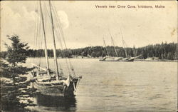 Vessels Near Crow Cove