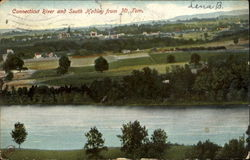 Connecticut River And South Hadley From Mt. Tom