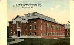 Bowdoin College Gymnasium And The Thos W. Hyde Athletic Building
