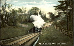 B. & A. R. R. Series State Line Tunnel