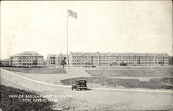 View Of Regular Army Barracks