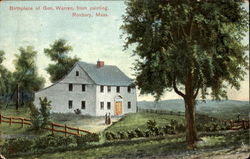 Birthplace Of Gen. Warren From Painting