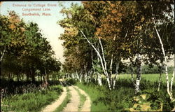 Entrance To Cottage Grove, Congamond Lake