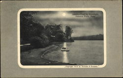 Jamaica Pond By Moonlight