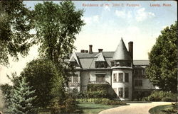 Residence Of Mr. John E Parsons