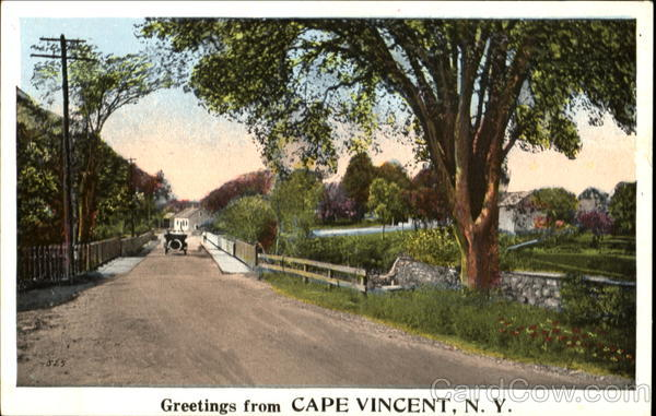Greetings From Cape Vincent New York