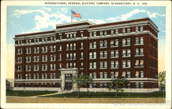 International General Electric Company Schenectady New York