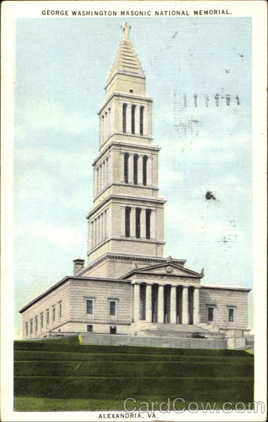 George Washington Masonic National Memorial Alexandria Virginia