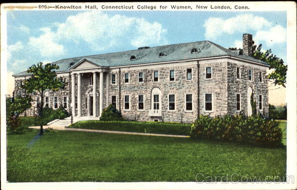 Knowlton Hall, Connecticut College for Women New London