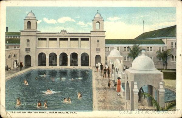 Casino Swimming Pool Palm Beach Florida