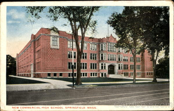 New Commercial High School Springfield Massachusetts