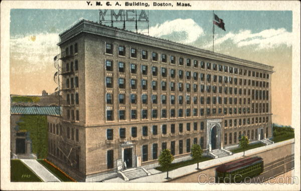 New Y. M. C. A. Building Boston Massachusetts