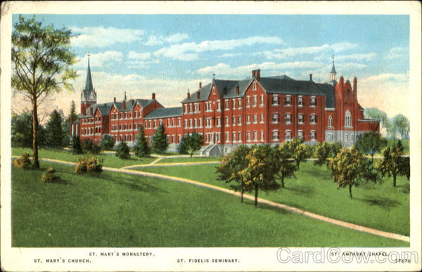 St. Fidelis Seminary Herman Pennsylvania
