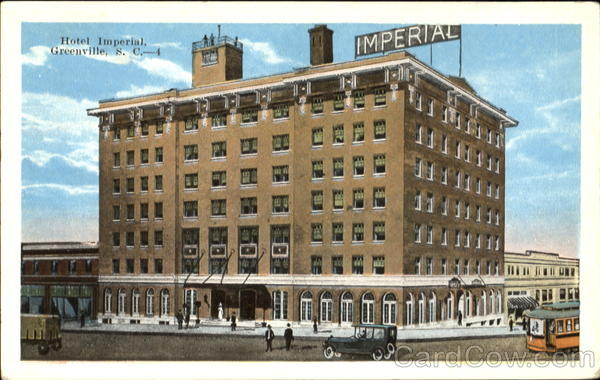 Hotel Imperial Greenville South Carolina
