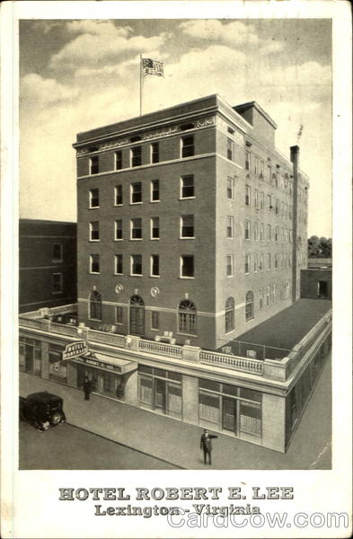 Hotel Robert E. Lee Lexington Virginia