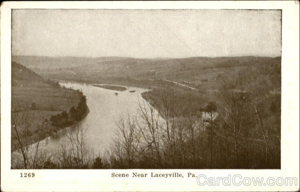 Scene Near Laceyville Pennsylvania