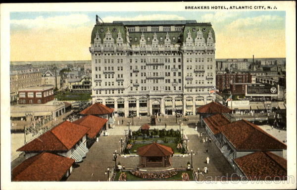 Breakers Hotel Atlantic City New Jersey