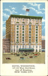 Hotel Woodstock, 127-135 West 43rd Street, Just Off Broadway