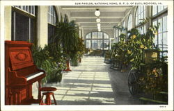 Sun Parlor, National Home, B.P.O. Of Elks