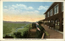 Dining Pavilion Looking East, Chimney Rock, Western North Carolina