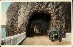 West Entrance To Mitchell's Point Tunnel, Columbia River Highway
