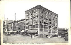 Hall And Lewis Block, Cor. Coloney & Main St.