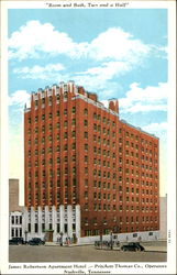 James Robertson Apartment Hotel, Seventh Avenue, Near Commerce